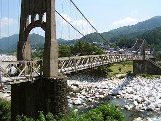 080726_1015_2_桃介橋(南木曽町)