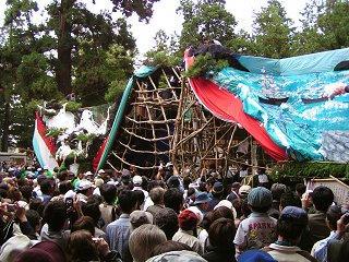 080927_1620_穂高神社御船祭り