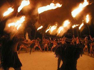 大網の火祭り(北安曇郡小谷村)