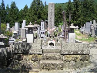090816_1155_明徳寺・栗林忠道墓(長野市)