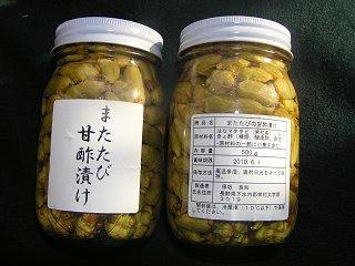 091018_1540_栄村名産「またたび」(栄村)