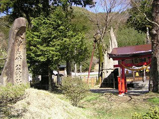 100417_1447_木曽義仲ゆかりの神社・旗挙八幡宮(木曽町)