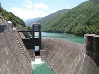 100724_1145_県営奈良井ダム(塩尻市)