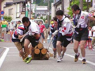 100731_1341_ひのきの里の夏まつり・第22回木馬引き大会(上松町)