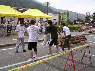 100731_1348_ひのきの里の夏まつり・第22回木馬引き大会(上松町)