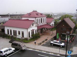 100819_1051_草軽電鉄・新軽井沢駅駅舎(軽井沢町)