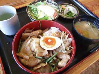 101106_1332_道の駅安曇野松川・「ビビンバ丼」(松川村)