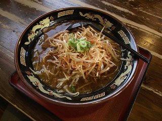 101129_1602_ちゃあしゅう屋・ネギ味噌ラーメン(長野市)