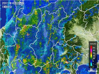 110428_0100_長野の雨雲の動き