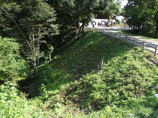 110813_0847_北の沢の渡河橋(辰野町)