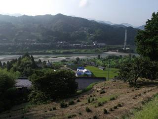 110816_0737_阿南町から見た下伊那郡泰阜村(阿南町)