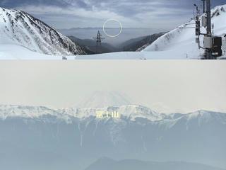 120425_0919_中央アルプス開山式・千畳敷から望む富士山(駒ヶ根市)