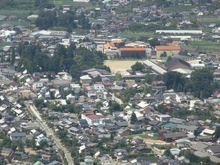 120817_1148_雁田山・展望園地からの眺め(小布施町)
