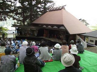 131012_1242_中尾歌舞伎秋季公演(伊那市長谷溝口・熱田神社)