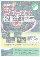 14_北信州・栄村 第7回春の山菜まつり