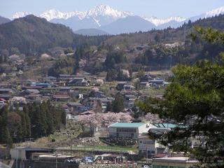 090411_0946_天白公園から撮影した土石流災害に見舞わる前の周辺の様子(南木曽町)