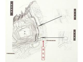 150429_0934_新府城跡・出構案内図(山梨県韮崎市)