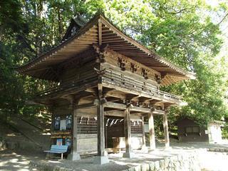 150530_0748_武田八幡神社・総門(山梨県韮崎市)