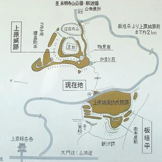 150919_1145_上原城諏訪氏館跡・案内図(茅野市)