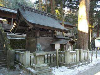 160211_0722_諏訪大社上社本宮・天流水舎(諏訪市)