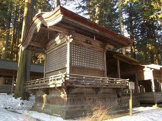 160211_0725_諏訪大社上社本宮・勅使殿(諏訪市)