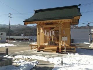 160211_0928_おかめ神社・宮川街歩きマップから(茅野市)