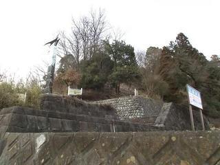 160228_1629_若神子城跡・南側(山梨県北杜市)
