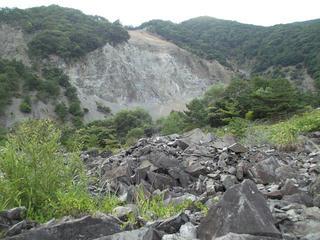 160816_1715_大西山崩壊礫保存園(大鹿村)