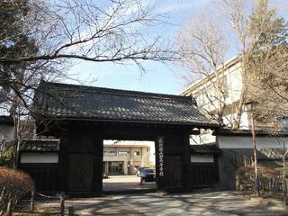 161218_1307_上田藩主居館表門(上田市)