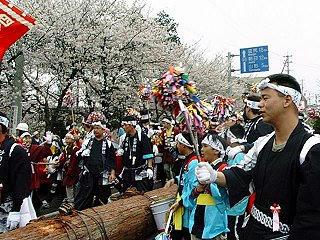 990418_沙田神社御柱大祭・山出し(松本市)