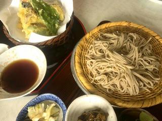 170713_1356_富士見の茶屋・天ざるそば(長野市)