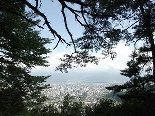 170811_1400_頼朝山山頂(長野市)