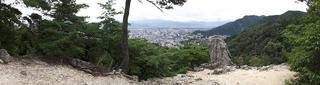 170820_1124_w_大峰遊歩道・物見の岩(長野市)