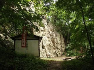 170820_1107_大峰遊歩道・岩井観音堂(長野市)