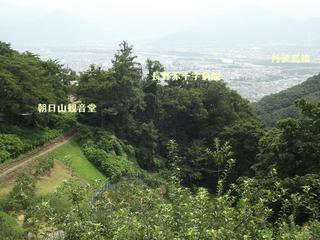 170822_1145_朝日山観音堂から旭山登山口へ(長野市)