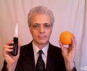 ディナーでオレンジが出たら