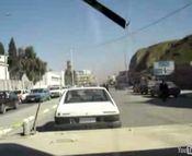 バグダッドをハンヴィーでドライブ