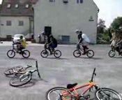 素人の自転車トリック