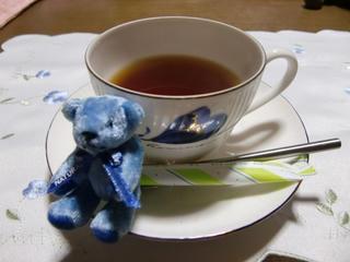 クリスマスの紅茶とベア6