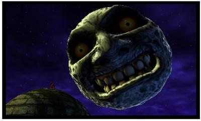 ゼルダの伝説 ムジュラの仮面 3D 月
