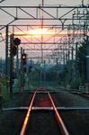 拝島線 朝日