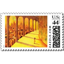 Original unique products 「Fantasy art - Corridor Stamps」