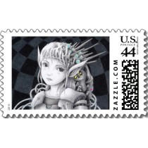Original unique products 「Science fiction art - Soldier Postage」