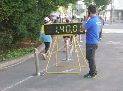 41.6kmの最後の関門|北海道マラソン