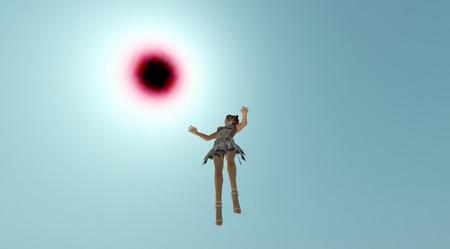 太陽赤いよ(T_T)