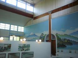 風呂の 壁画 富士山
