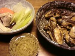 鍋 牡蠣 酒