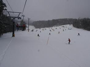 ノルン水上スキー場中斜面下部