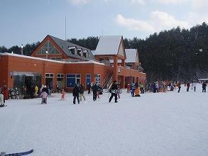 ノルン水上スキー場のレストハウス
