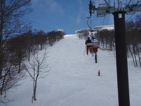 八海山スキー場こぶのエキスパートコース